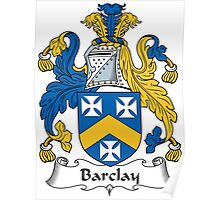 Barclay Coat of Arms (Scottish) Poster