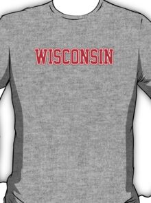 Wisconsin Jersey Red T-Shirt