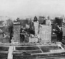 Michigan Avenue in Chicago (1911)  by BravuraMedia