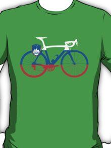 Bike Flag Slovenia (Big) T-Shirt