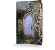Door of imagination Greeting Card
