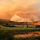 Sunset & Smoke by Randy Richards