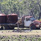 Rusty Old Truck with Water Tanks by Sandy1949