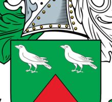 Craw Coat of Arms (Scottish) Sticker