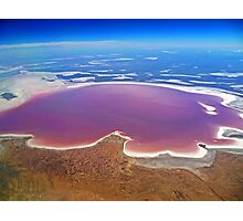 Lake Eyre - Aerial View Photographic Print