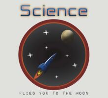 Science flies you to the moon by pokingstick