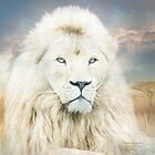 White Lion - Spirit Of Goodness by Carol  Cavalaris