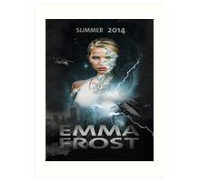 Emma frost Movie poster Art Print