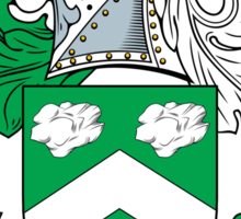 Flint Coat of Arms (Scottish) Sticker