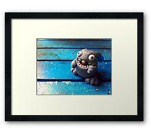 Knubbelding - Stan Framed Print