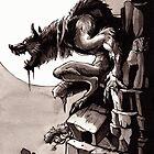 Crag Werewolf by weremagnus