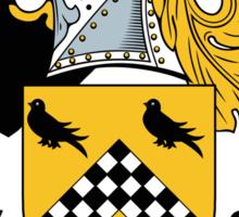 Houston Coat of Arms (Scottish) Sticker