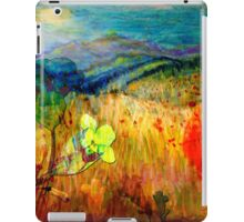 At the Edge of Dreaming Fields iPad Case/Skin