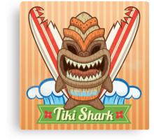 Tiki Shark Canvas Print