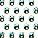 Baby Panda (Pattern 1) by Adamzworld