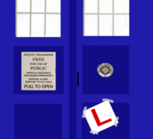 Time Lord In Training (Learner Pilot) Sticker