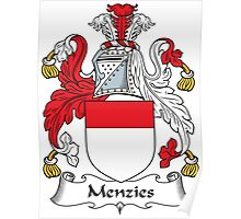 Menzies Coat of Arms (Scottish) Poster