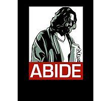 Jeff Lebowski (the dude) abides - the big lebowski Photographic Print