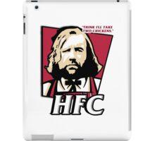 The hound fried chicken (HFC) - Kentucky parody.  iPad Case/Skin