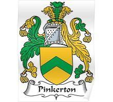 Pinkerton Coat of Arms (Scottish) Poster