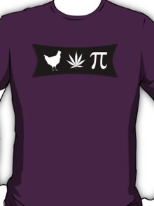 Chicken pot pi (pie) - funny tshirt T-Shirt
