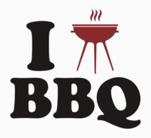 I Love BBQ by DesignFactoryD