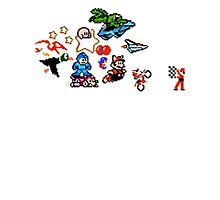 8-bit Race Photographic Print