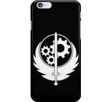 B.O.S. White iPhone Case/Skin