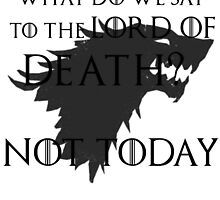 Lord of Death... not today by Charenne