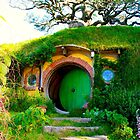 Bag End - Hobbiton, New Zealand by Nicola Barnard