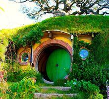 Bag End - Hobbiton, New Zealand by Nicola Barnard