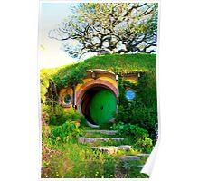 Bag End - Hobbiton, New Zealand Poster