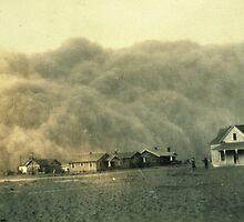 Texas Dust Storm by BravuraMedia