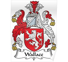 Wallace Coat of Arms (Scottish) Poster