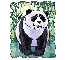 Animal Parade Panda Bear Photographic Print