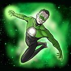 Green Lantern Kyle Rayner by jarofcomics