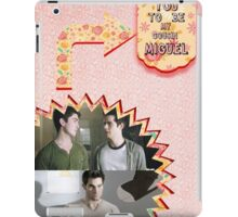 My Teenwolfed Valentine [I Want You To Be My Cousin Miguel] iPad Case/Skin