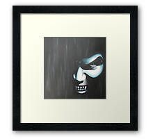 Demon In the Dark Framed Print
