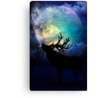 Mid-Winter Moon - The Call Canvas Print