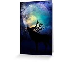 Mid-Winter Moon - The Call Greeting Card