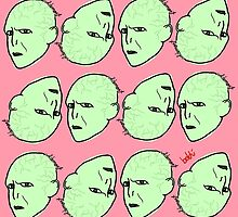 Voldemort Pattern by Xavierboldu