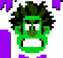 Smash it Hulk Sticker
