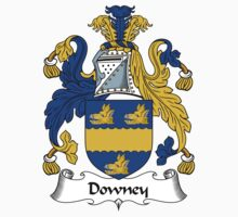 Downey Coat of Arms / Downey Family Crest by ScotlandForever