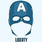 Captain America - Liberty Mask by Deividas