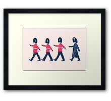 Off Guard Framed Print
