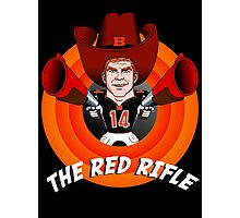 The Red Rifle Photographic Print