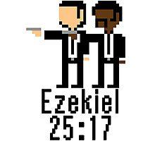 Ezekiel 25:17 Photographic Print