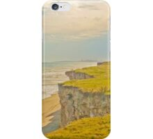 Lonely Beach with Barranco iPhone Case/Skin