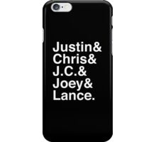 90s Boy Band iPhone Case/Skin