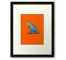 Pixevolution - Tyrannosaurus Macaw  Framed Print